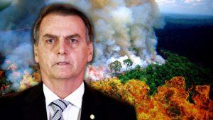 Жар Болсонару лесные пожары в Амазонии