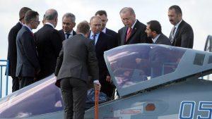 Турция может купить у России Су-57 — [видео]