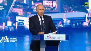 Путин, Моди, Абэ и другие лидеры на пленарной сессии ВЭФ-2019 — [онлайн-трансляция]