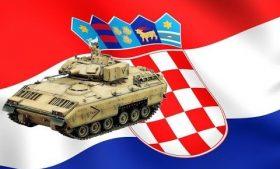 Хорватия получила боевые машины пехоты «М2 Bradley»
