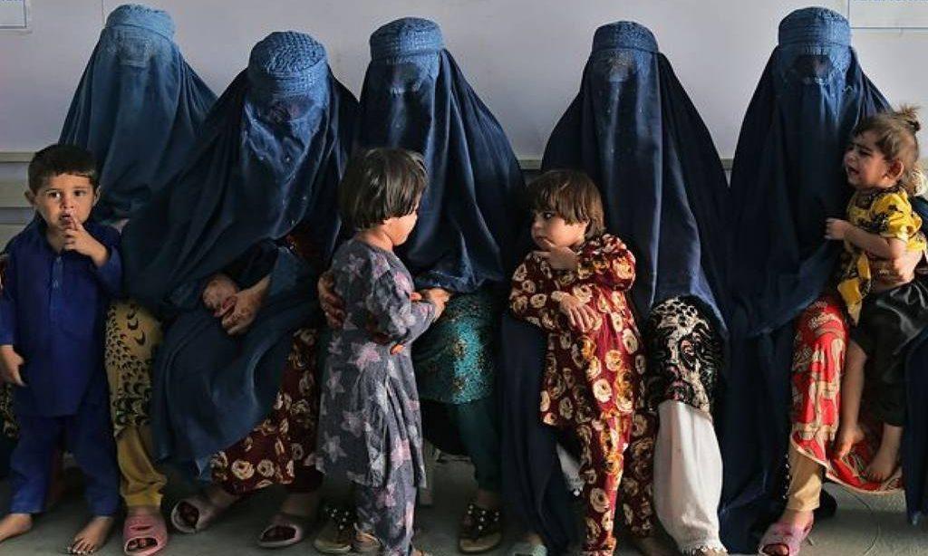 беженки с детьми