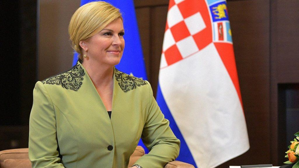 """Лидер Хорватии вспомнила """"добром"""" пособника нацистов Третьего Рейха"""
