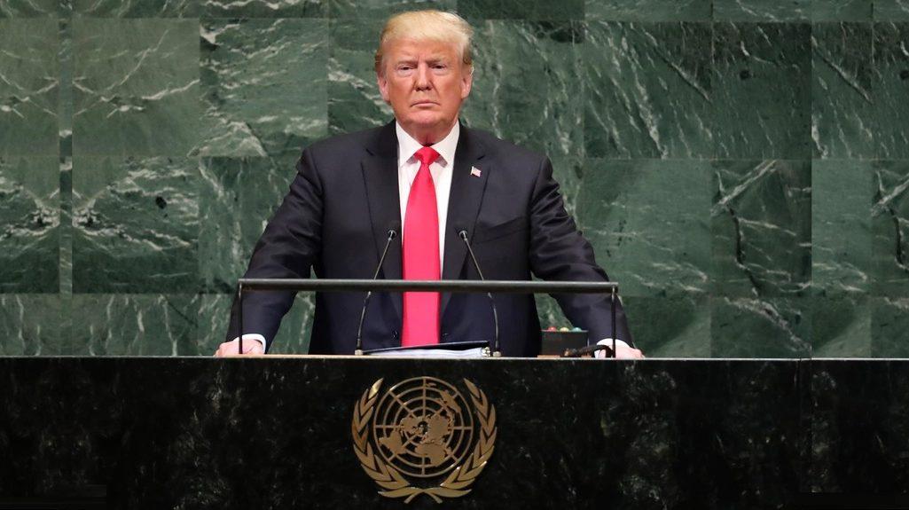 Дональд Трамп выступил перед Генеральной Ассамблеей ООН