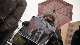 За Палецкиса: Общественники не дождались посла Литвы в Минске
