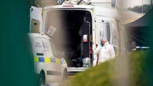 В Британии полиция обнаружила грузовик с 39 трупами