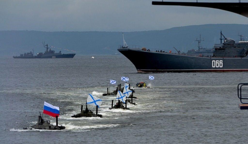 черноморский флот РФ в Крыму