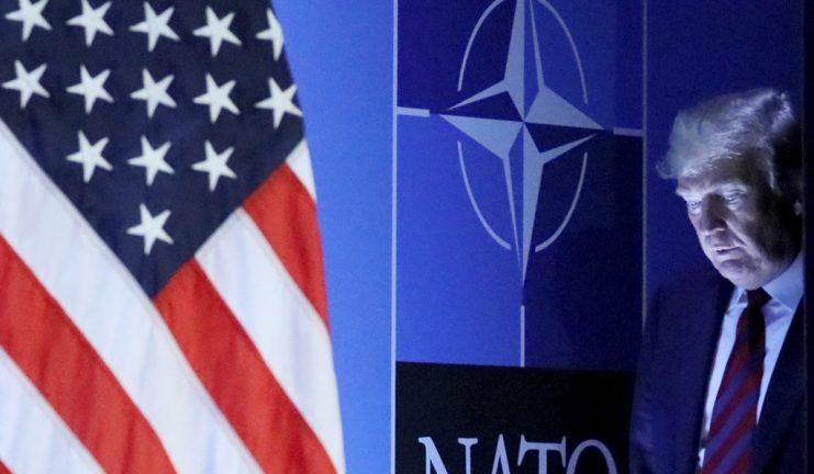 США в НАТО, Дональд Трамп