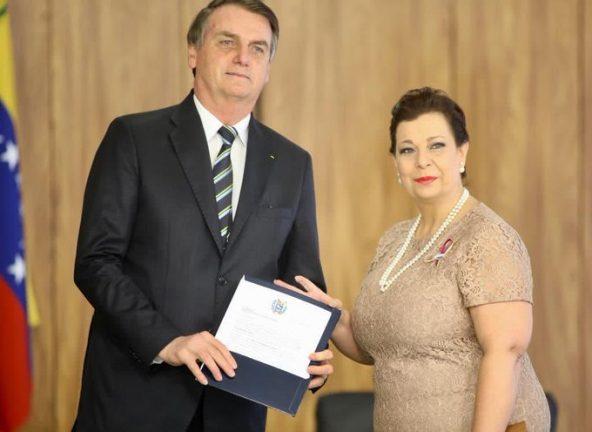 Жаир Болсонару и Мария Беландриа