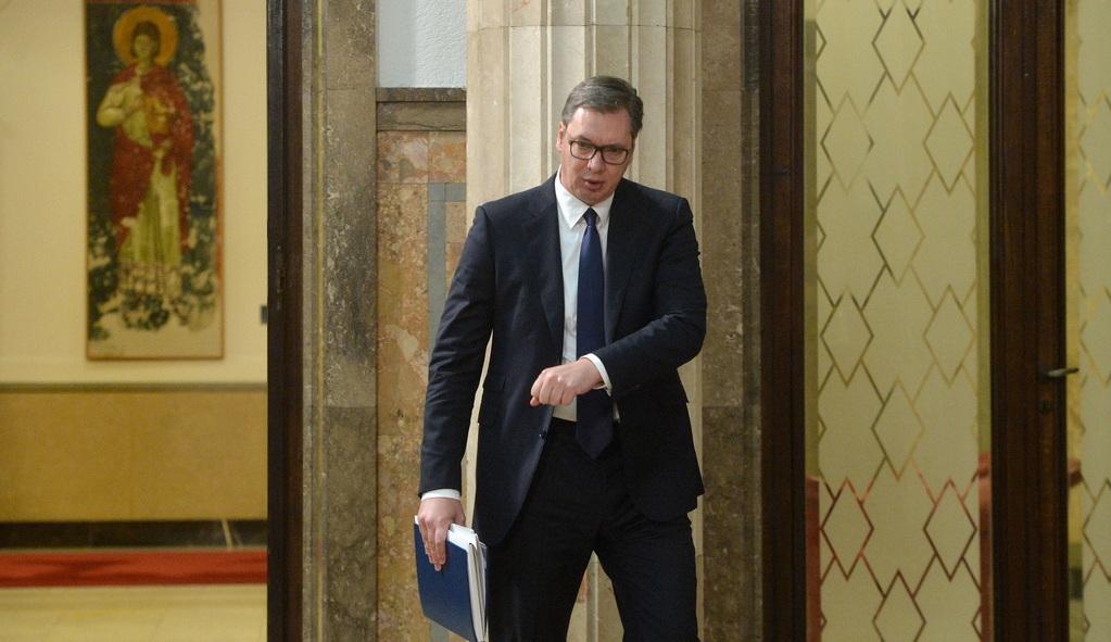 президент Сербии Александар Вучич