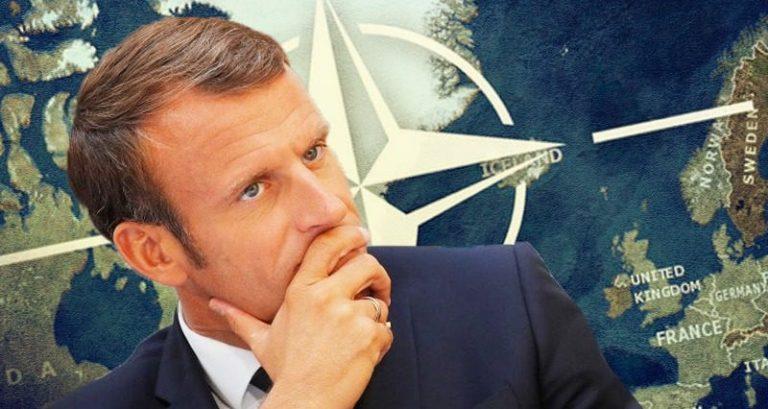 Эммануэль Макрон о НАТО