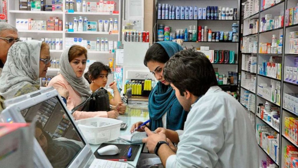 фармацевтика Ирана