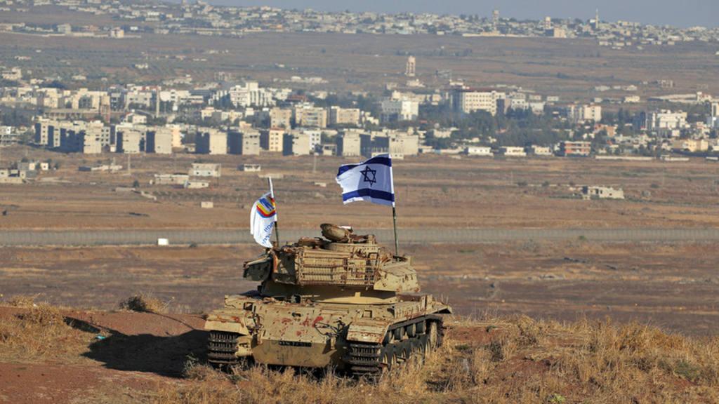 Израиль и оккупированные Голаны