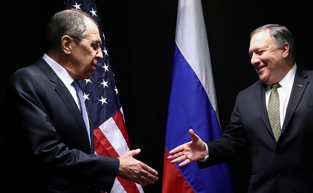 Помпео и Лавров оговорят украинский кризис в США после нормандского саммита