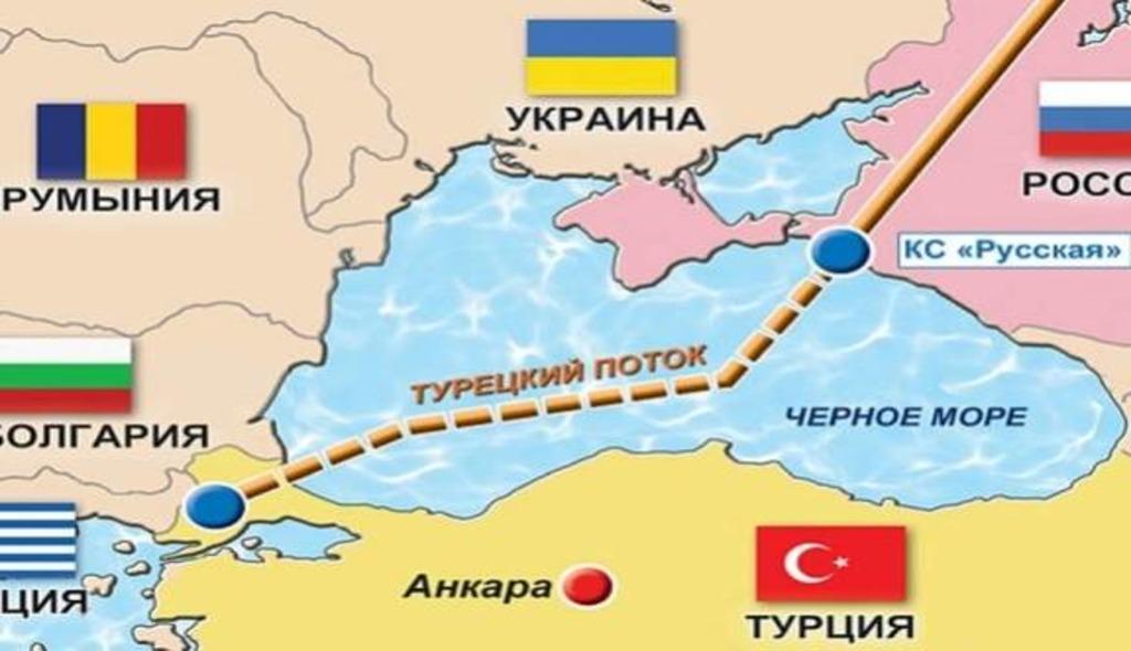 газопровод Турецкий поток