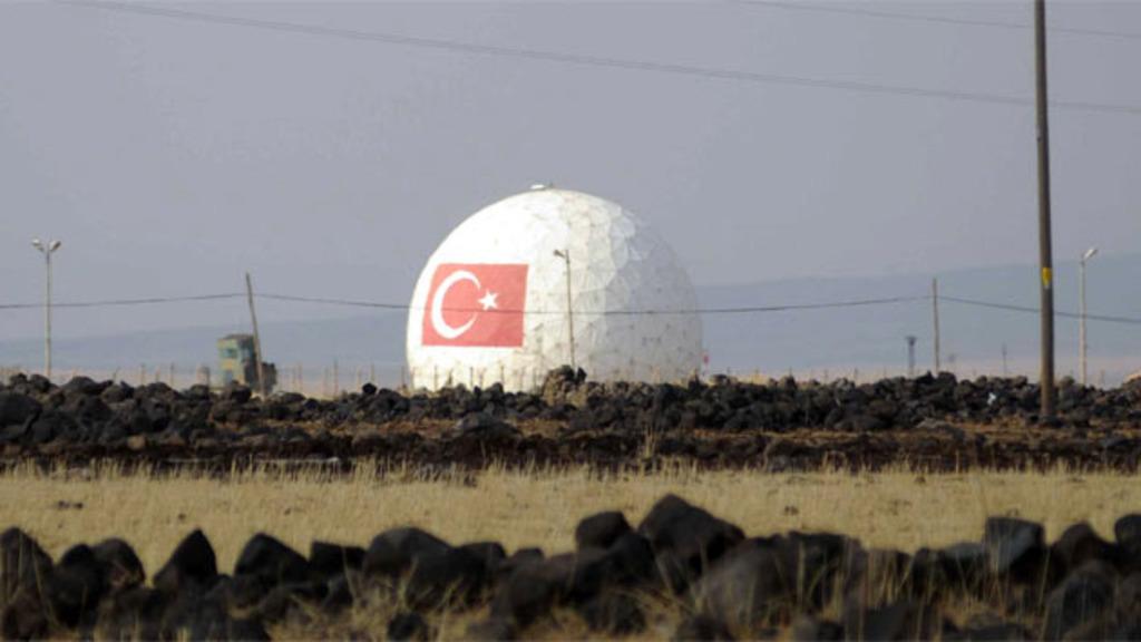система ПРО НАТО на военной базе Кюреджик в Турции