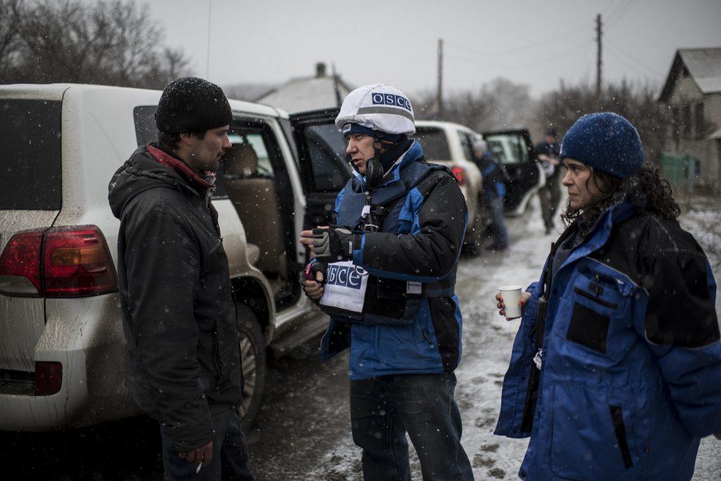 """""""Мирные"""" 140 взрывов со стороны ВСУ зафиксировала в Донбассе СММ ОБСЕ"""