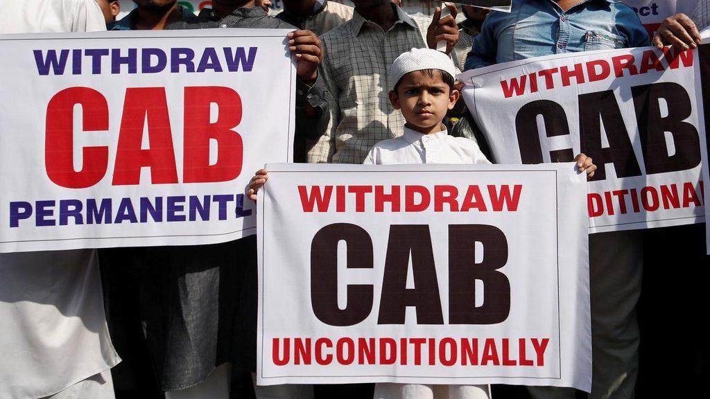 протесты против поправок к  закону о гражданстве в Индии