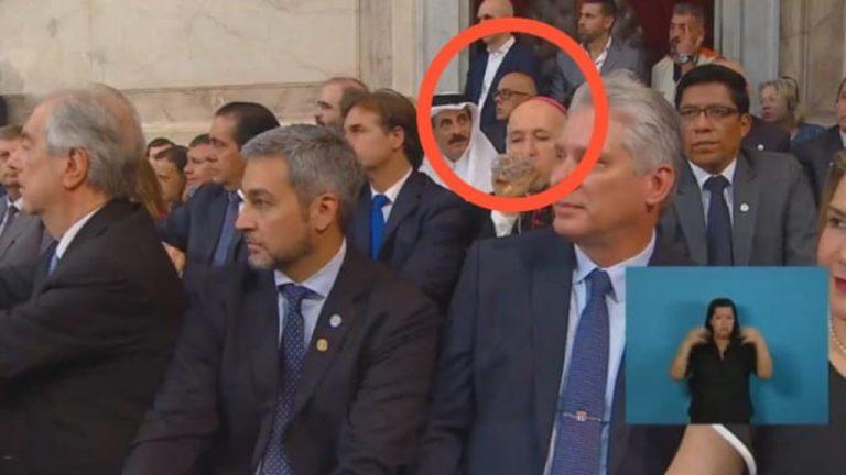 венесуэлец Хорхе Родригес на инаугурации президента Альберто Фернандеса