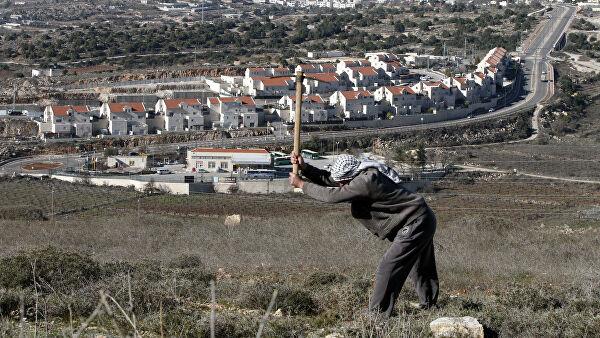 еврейские поселения на западном берегу