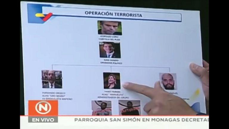 министр связи и информации Венесуэлы Хорхе Родригес рассказал о диверсии