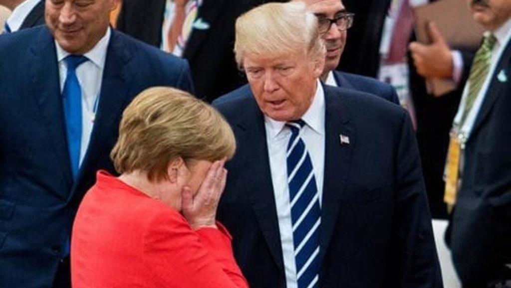 Трамп vs Меркель