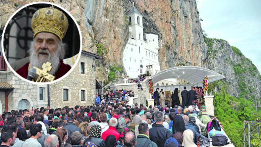 По закону о свободе вероисповедания у Сербской православной церкви в Черногрии конфискуют церкви, земли и собственность