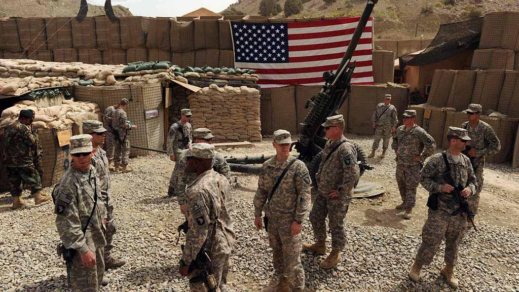 Американская военная база в Багдаде подверглась обстрелу