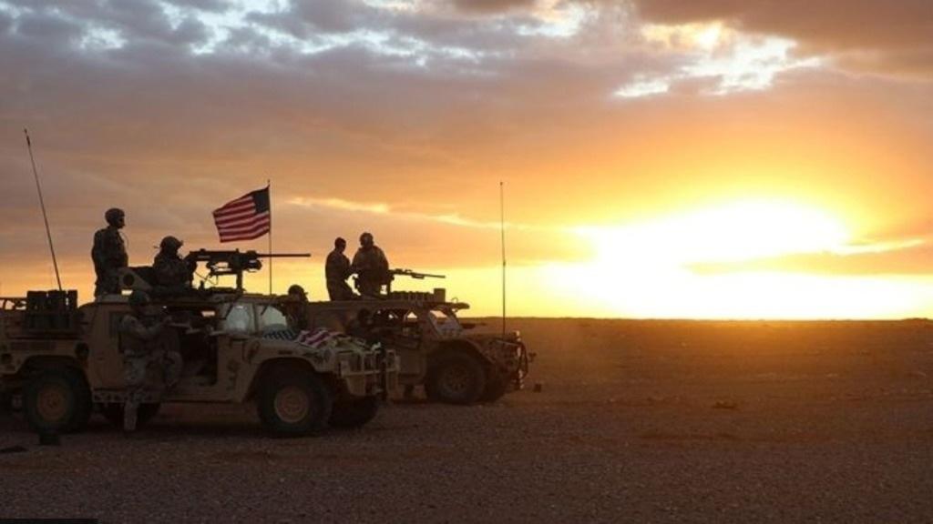 американская коалиция в  Ираке