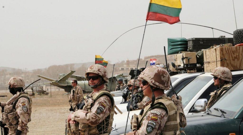 Минобороны Литвы усилит охрану баз литовских военных в Ираке