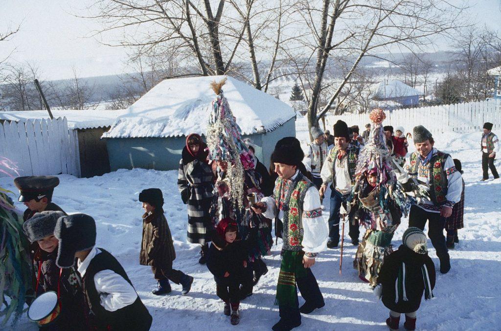 Молдавские традиции и обычаи на зимние праздники