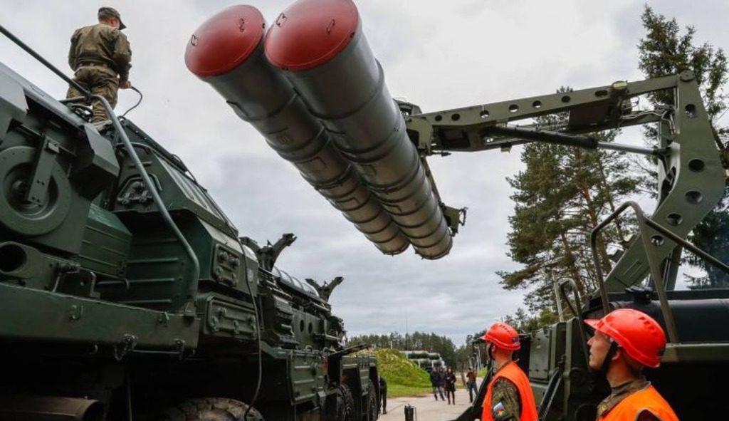 комплексы ПВО ЗРК С-400