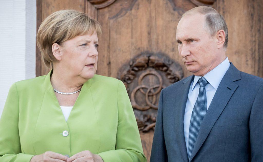 В Кремле проходит встреча Путина и Меркель
