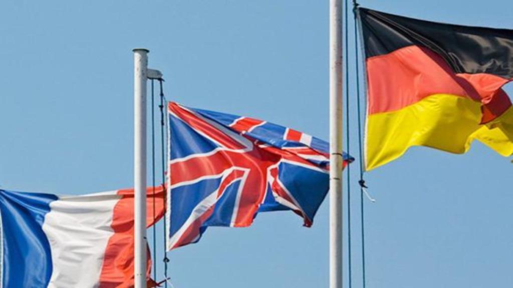 Евротройка - Франция, Британия и ФРГ