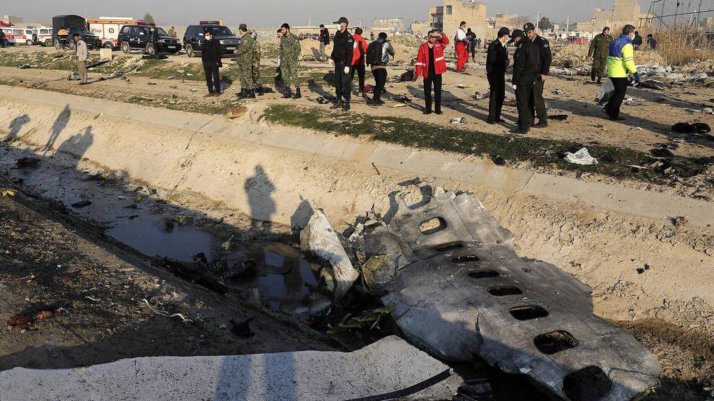авиакатастрофа украинского Боинга под Тегераном