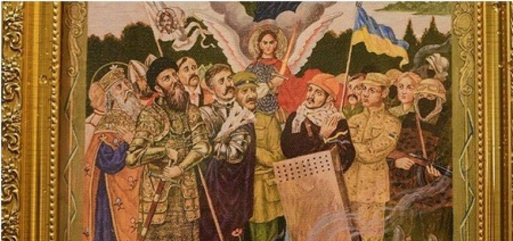 """Раскольники """"ПЦУ"""" намалевали иконы с """"ликами"""" нацистов и """"атошников"""""""
