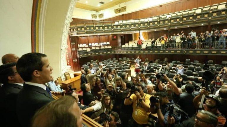 Хуан Гуайдо в Ассамблее