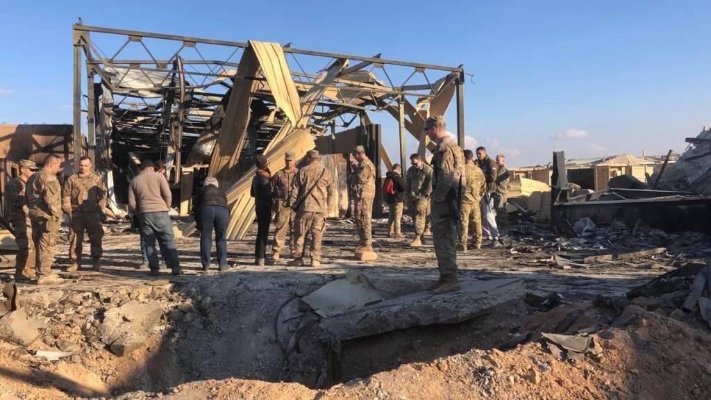 Иран  атаковал американскую базу в Ираке