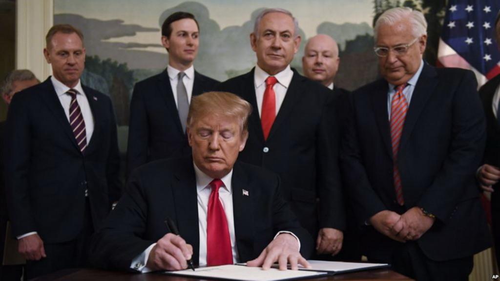 Трамп Кушнер Нетаньяху
