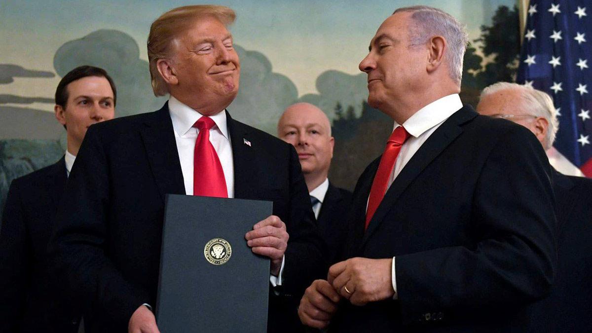 """Трамп и Нетаньяху """"мирный план"""" США по Ближнему Востоку"""