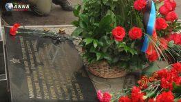 В Донецке почтили память погибших при обстреле Боссе