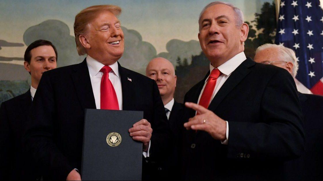 Нетаньяху и Трамп - сделка века