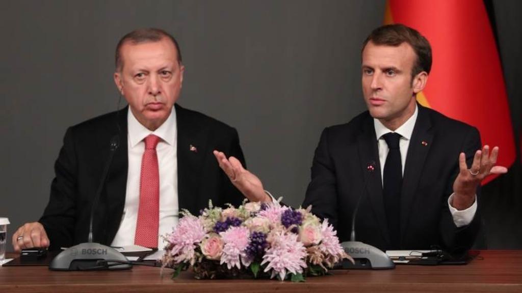 Эрдоган и Макрон