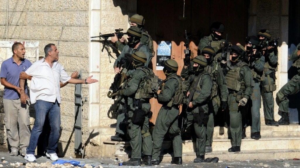 Западный берег реки Иордан, израильская полиция