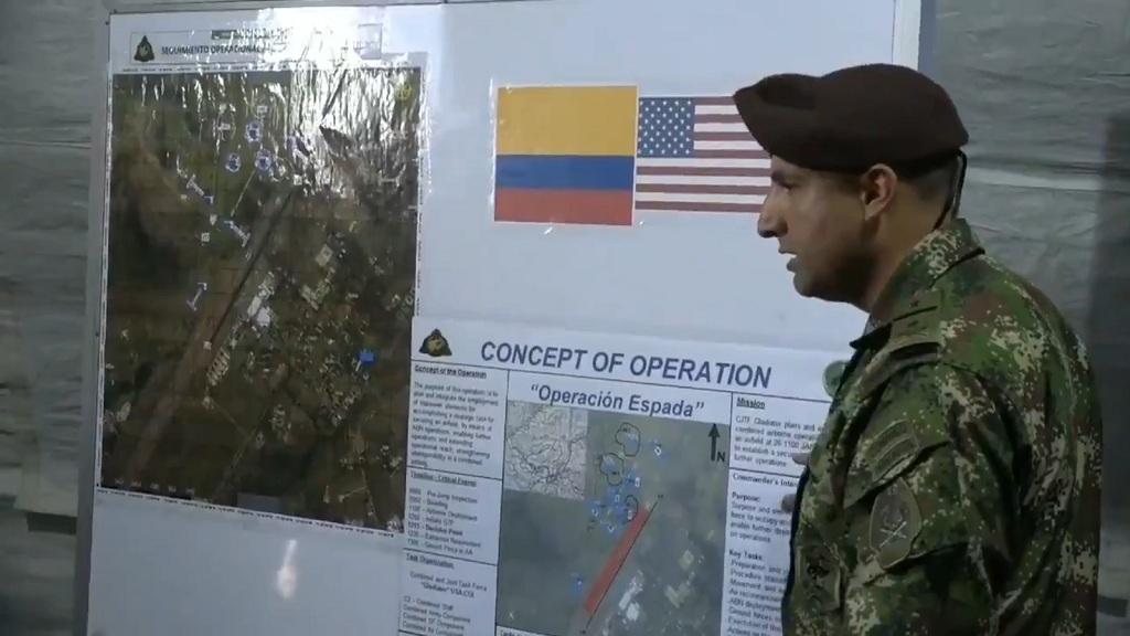 военные учения США и Колумбии