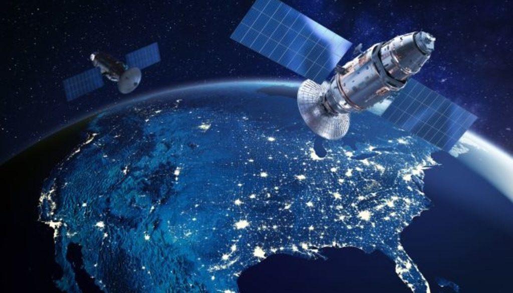спутники на орбите Земли