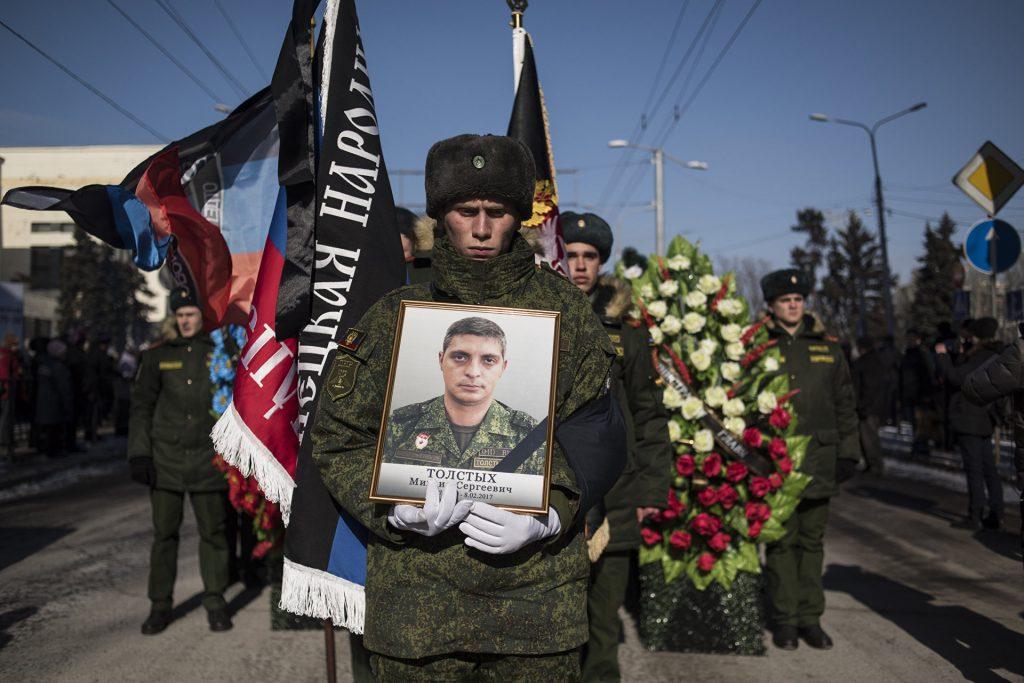 Память легендарного комбрига Гиви почтили сотни жителей ДНР