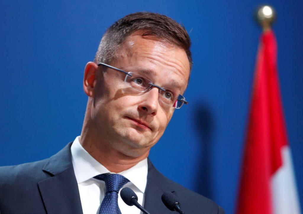 Сийярто не смог убедить Киев обеспечить права венгров на Руине