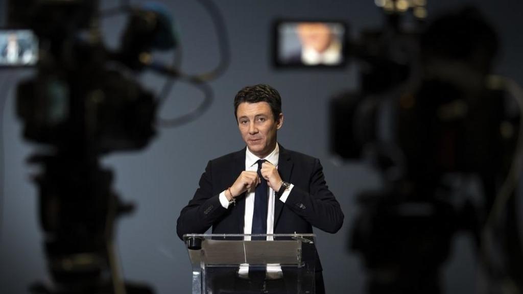 кандидат в мэры Парижа Бенжамен Гриво