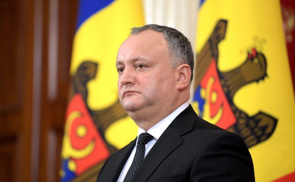 Игорю Додону попеняли за критику западных послов в Кишинёве