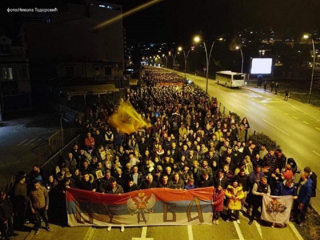 Православных Черногории поддержали рэперы из Белграда
